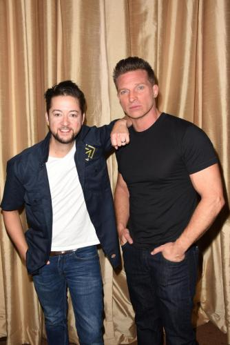 Stone Cold and the Jackal: Bradford Anderson and Steve Burton, performed a version of their two-man show to the GHFCW audience.