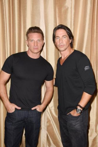 Two GH favorites: Steve Burton and Michael Easton.