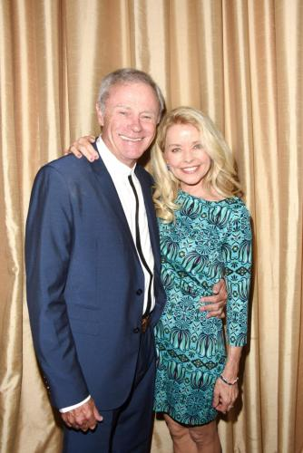 Longtime GH fan favorites, Tristan Rogers and Kristina Wagner strike a pose.