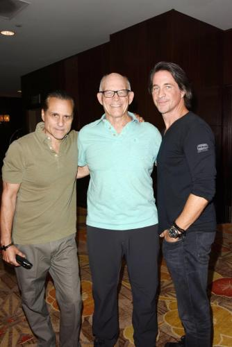 Maurice Benard, and Max Gail with Michael Easton.