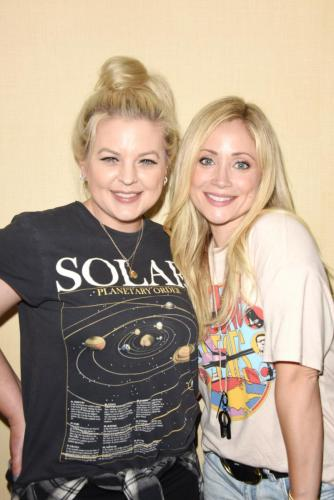 BFF's - Kirsten Storms and Emme Rylan.