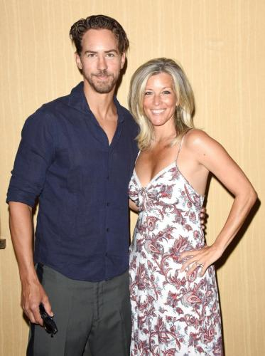Laura Wright and her beau, Wes Ramsey held their own event on Sunday for the fans.
