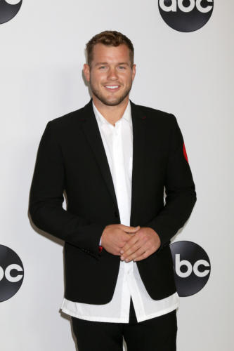 "He was the fourth runner-up for Becca's heart on ""The Bachlorette"", now he;s on ""Bachelor in Paradise""... Colton Underwood."
