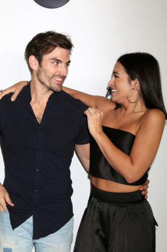 "Newly engaged, ""Bachelor In Paradise'"" duo Jared Haibon, and Ashley Iaconetti."