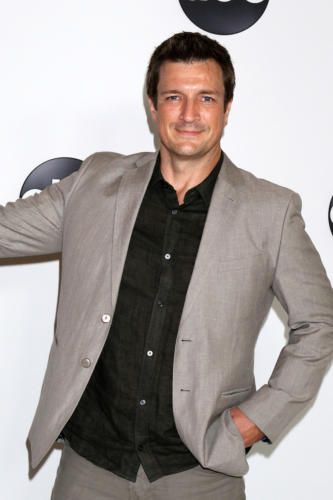 "He's back with a new series, ""The Rookie!"" while never forgetting his OLTL roots ... Nathan Fillion."
