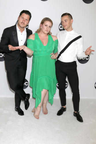 """Dancing with the Stars: Juniors"" judges: Val Chmerkovskiy, Mandy Moore, and Adam Rippon ."