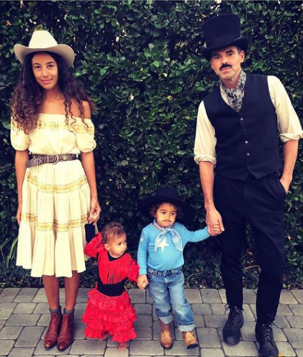 Y&R's Jason Thompson and family take a trip back to the Wild Wild West!