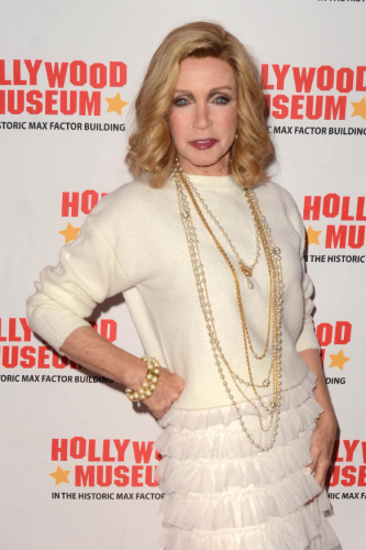"""Donna Mills always stunning and remembered as Abby Ewing on 'Knots""""."""