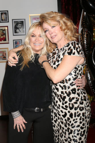Catherine Hickland drove all the way from Vegas to be part of her dear friend, Melody's big 4-0 with Y&R.