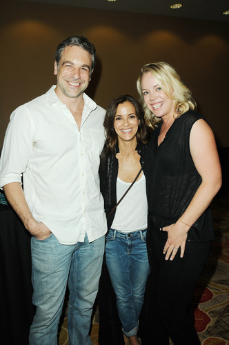 Good friends:  Erin Torpey (the original Jessica Buchanan), Rebecca Budig, and Chris McKenna.