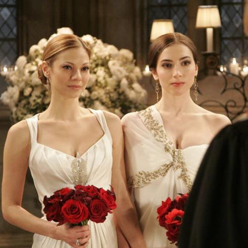 Who can forget the AMC same-sex wedding of Bianca (Eden Riegel) and Reese (Tamara Braun)? Problem is the writers wrecked it, by having that kiss between Zach and Reese!