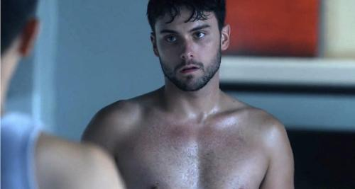 "The law student with an intriguing personal life, Connor Walsh (Jack Falahee) on ""How to Get Away with Murder""."