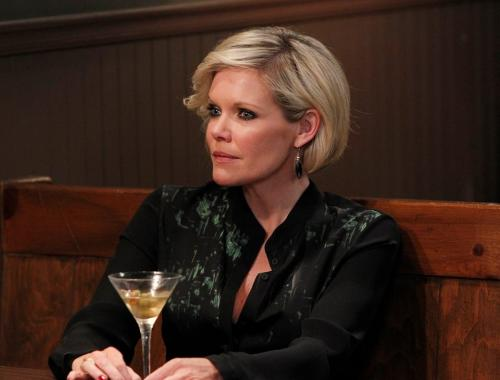 A martini glass, a dramatic outfit, blonde hair and become the one and only Ava Jerome of GH.