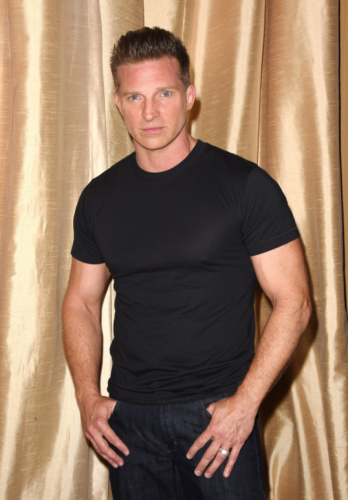 Throw on a black t-shirt and you can quickly become GH's Jason Morgan for Halloween