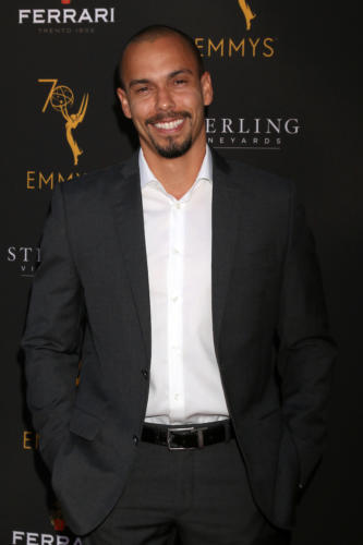 Y&R's Bryton James makes an appearance after he recently delivered heartbreaking scenes with Mishael Morgan when she exited the show.