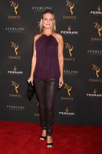 Y&R's Sharon Case always knows how to make a stylish entrance.