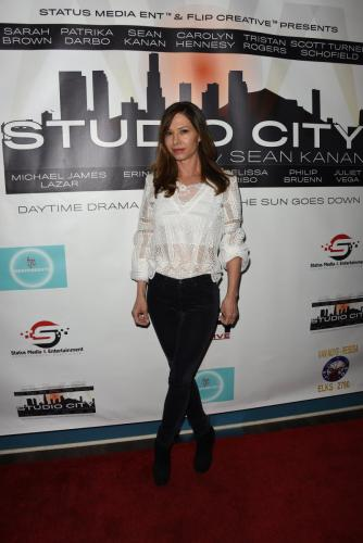You can't get any better than three-time Daytime Emmy winner, Sarah Joy Brown, who plays Sean Kanan's half-sister in the digital drama.