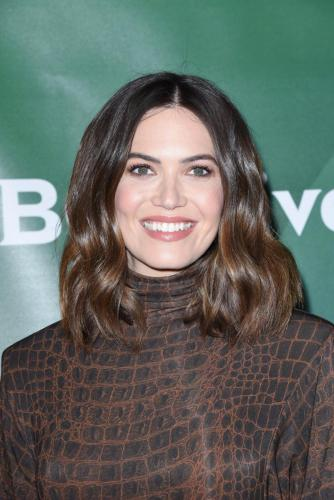 Mandy Moore attends the NBC TCA's promoting the back-half of the season of 'This Is Us'.