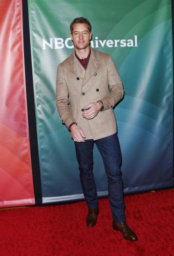 Former Y&R star, Justin Hartley attending the NBC TCA for 'This Is Us'.