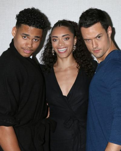 Now here;s a dangerous trio: Adain Bradley, Kiara Barnes, and Matthew Atkinson!