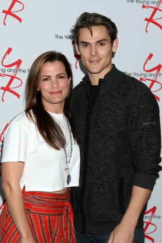 The new Chadam: Melissa Claire Egan and Mark Grossman.