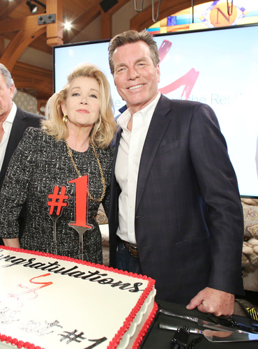 Y&R mainstays - Peter Bergman, Melody Thomas Scott and Eric Braeden.