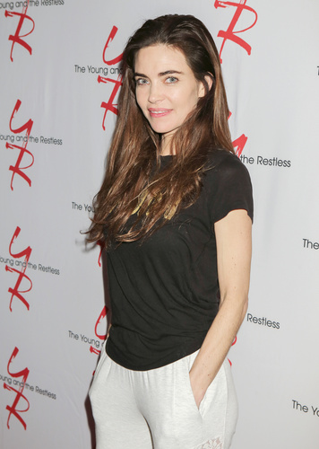 Two-time Daytime Emmy winner, Amelia Heinle is playing out plenty of drama as Victoria.