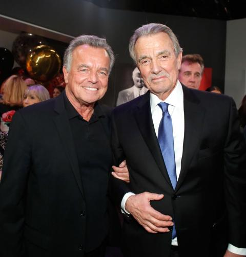 Former Y&R baddie, Ray Wise visits with Eric.