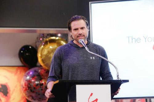 Joshua Morrow told some never-before-told moments between him and Eric for the attendees.