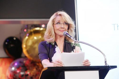 Melody Thomas Scott, who has played Nikki Newman for decades honors her on-screen leading man.