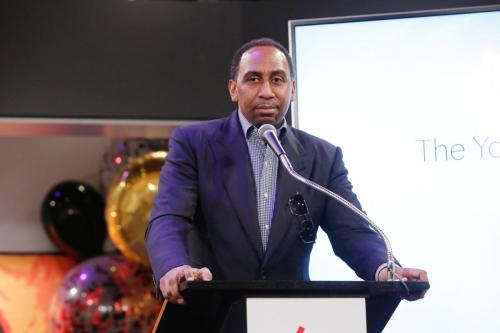 Sports broadcaster and journalist, Stephen A. Smith related how his friendship with Eric has meant so much to him over the past 7 years.
