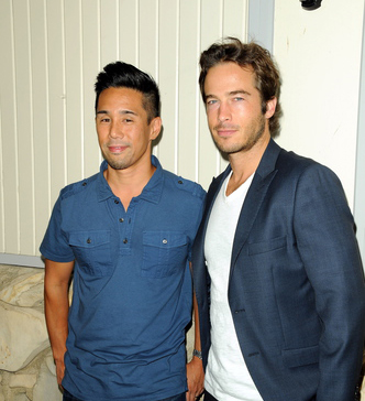 GH's Lucas (Ryan Carnes) came out to his family, and fell for conniving, but lovable, Brad Cooper (Parry Shen).