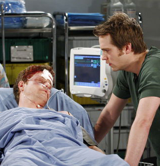 ATWT controversial love story as Luke (Hansis) fell in love with Dr. Reid Oliver (Eric Sheffer Stevens). Tragically, Reid was killed, leaving Luke alone in the series finale.