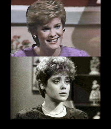 AMC's Devon (Tricia McFadden) found herself drawn to lesbian Lynn Carson (Donna Pescow).