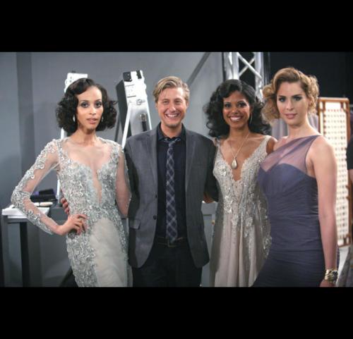 On B&B, Scott Turner Schofield played Maya's trans friend, Nick. B&B was inclusive featuring trans models: Isis King, Carmen Carerra in a fashion show.